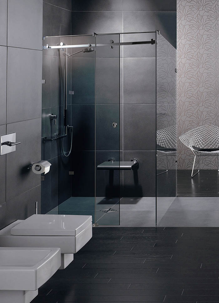 beautiful salle de bain moderne baignoire dangle gallery. Black Bedroom Furniture Sets. Home Design Ideas