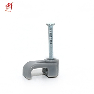 all sizes wire nail cable clip for home wire secure