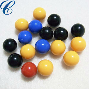 Round 6mm 7mm 8mm Plastic Acrylic Bead Without Hole PMMA Beads