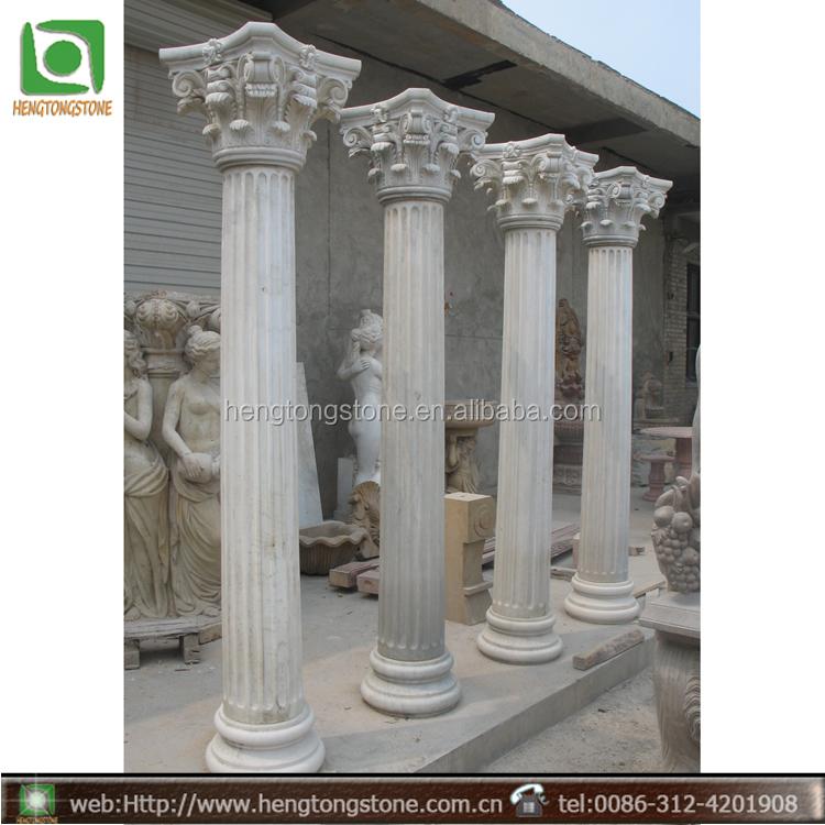 Stone Gate Pillars : Marmo pietra ornamentale disegno cancello pilastro
