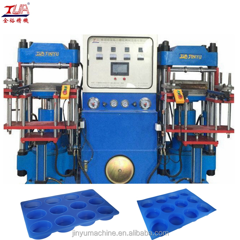 double heads automatic silicone soap molds making Machine