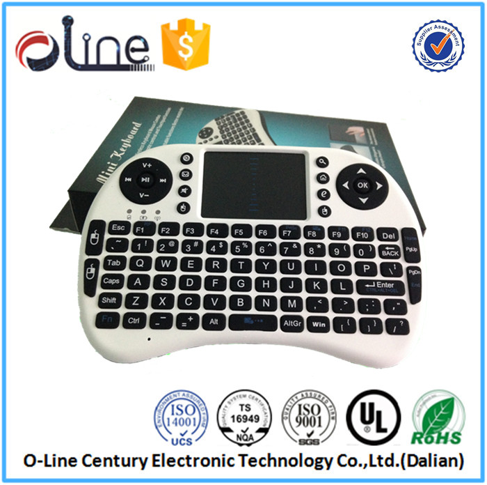Professional Auto sleep and auto wake mode i8 wireless keyboard for android tv box wireless keyboard and mouse