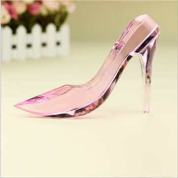 crystal shoes for wedding gifts souvenir
