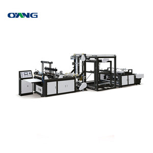 High Quality U Cut And D Cut Non Woven Flat Bag Making Machine Price,Biodegradable Plastic