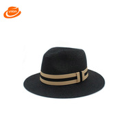 Custom Color men women traveler Toyo jute Paper straw boater caps hats wholesale with cheap price
