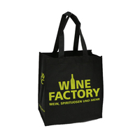 Cheap Gift Custom Logo Printed Recyclable Grocery Pp Non Woven Fabric Bag For Shopping