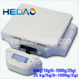 Optional AC/DC Power Adapter Available platform weighing scale