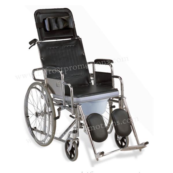 adulte manuel d ployante en acier dossier haut fauteuil roulant handicap avec wc produits. Black Bedroom Furniture Sets. Home Design Ideas