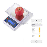 2015 Canton fair new innovation technology product digital high precision APP bluetooth intelligent nutritional kitchen scale