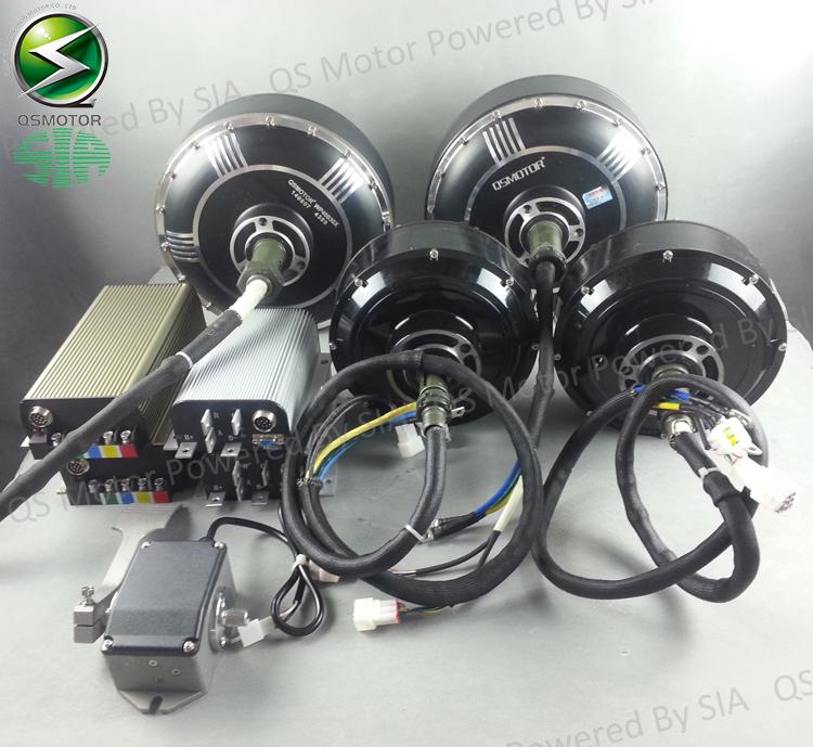 96 v 125kph kits de conversi n de coches el ctricos 2x8000 w hub motor kits motor. Black Bedroom Furniture Sets. Home Design Ideas