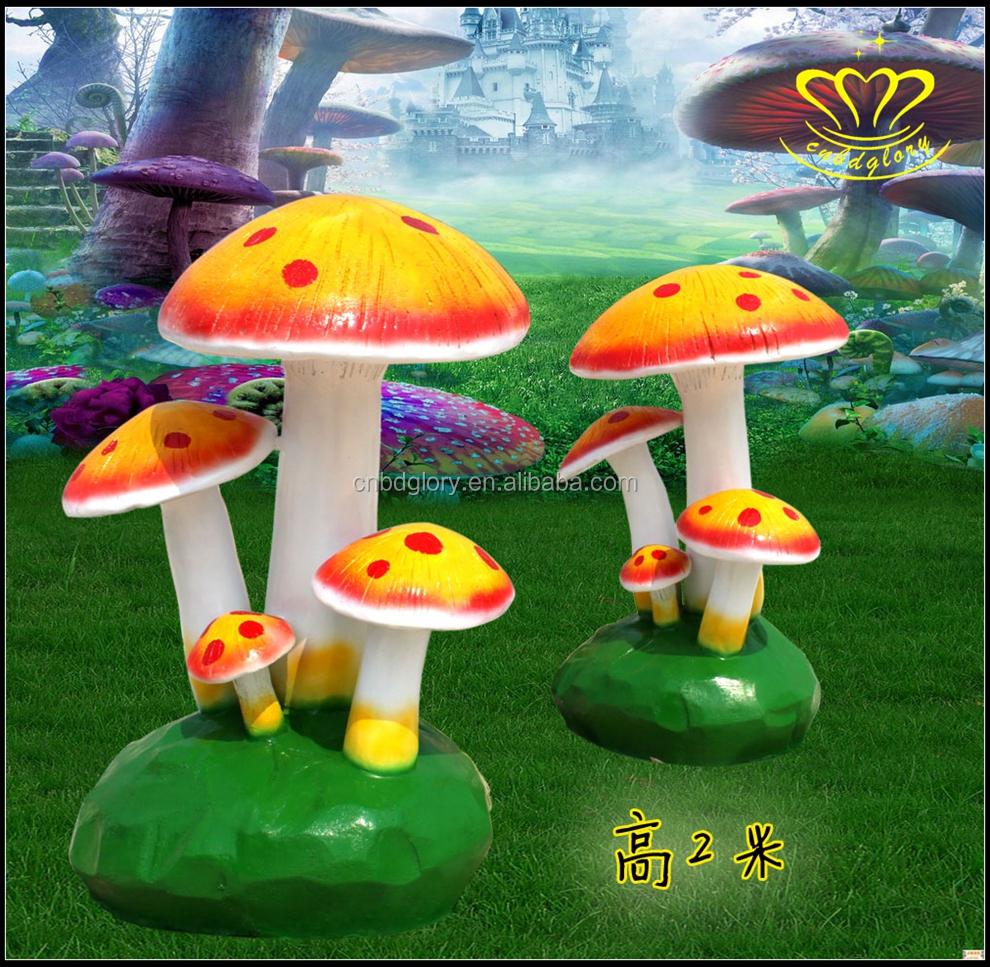 Fiberglass Decorative Mushrooms For Garden, Fiberglass Decorative ...