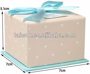 Custom Logo Printed Ribbon Christmas Gift Boxes With Lids