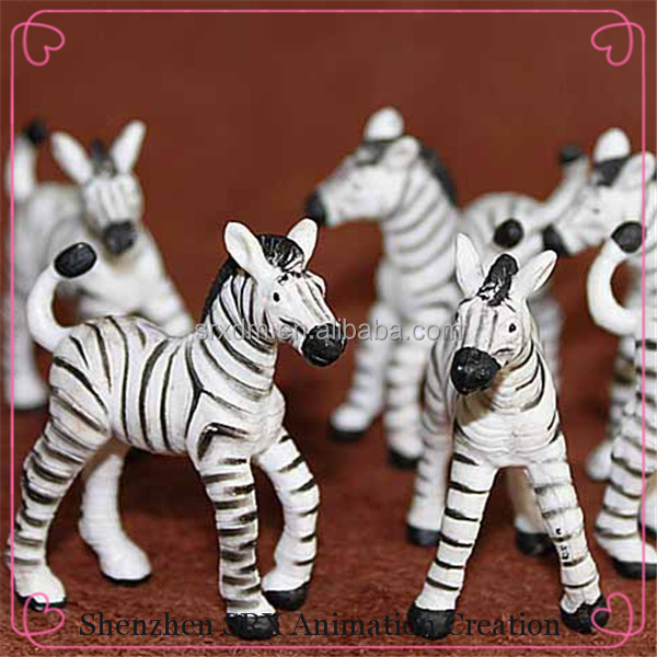 Making Custom Plastic Zebra Wild Animal Small Figure Toys,Custom ...