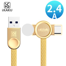 KAKU double sided flat charger micro usb android cable for samsung