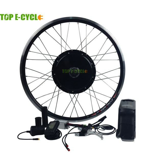 TOP E-cycle waterproof cable 48V 1000W electric bike kit