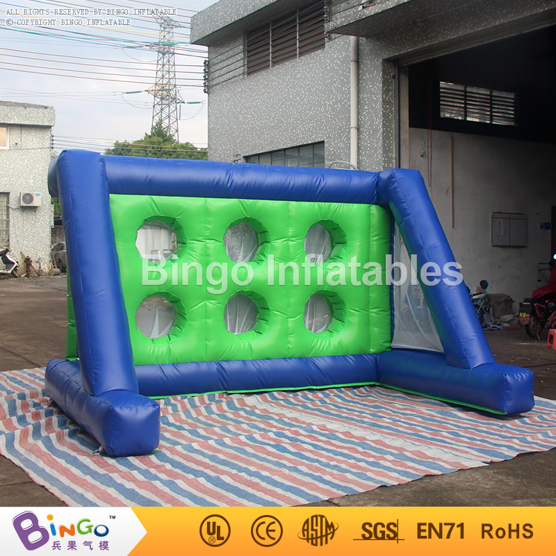 Hire Large Inflatable Football Goal Post game for sale