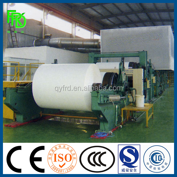 Cultural Paper Making Machine For Copy / Printing /A4 /Writing Paper