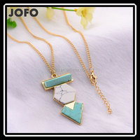 gemstone jewelry natural turquoise necklace
