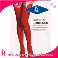 Hot Red Christmas Stocking With Feather