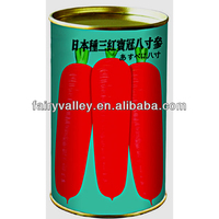 Japan Red Coronet 8 Inches Carrot Seeds-Heirloom Vegetable Seeds