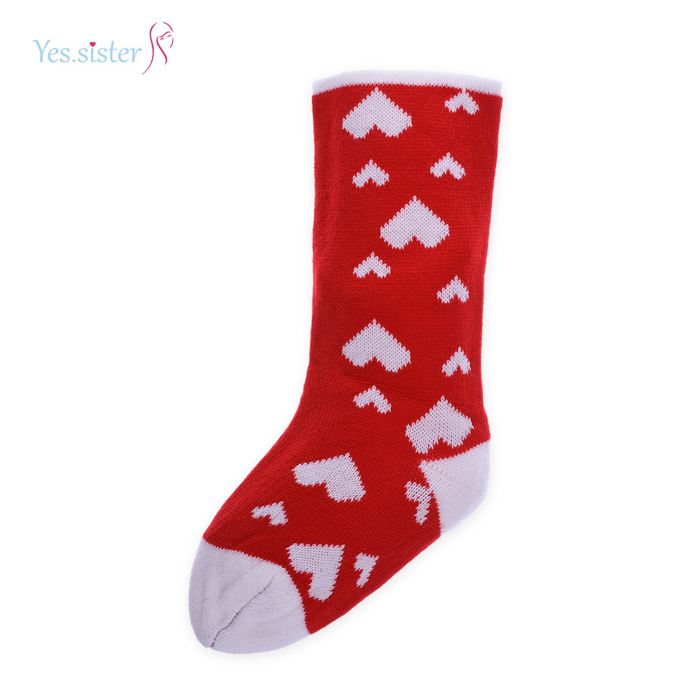 Yes. Sister Red Jacquard Acrylic Baby Socks Wholesale Supplier In China