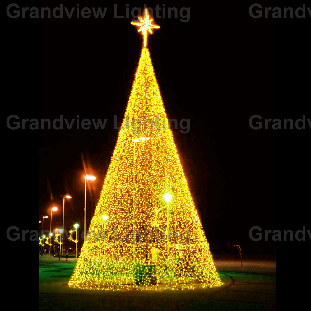Outdoor colorful large led decoration christmas tree light Outdoor christmas tree photos