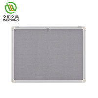 Wall Mountable Pin Notice Memo Felt Board For Office Home