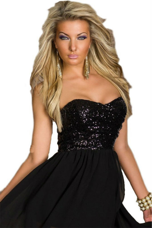 111612ed9c8 OEM al por mayor con encanto gasa falda, sequined o encaje Top asimétrico  vestido de
