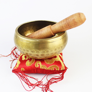 Wholesale Religion Fengshui Antique Bronze Tibetan Singing Bowl For Meditation Chakra Healing Yoga and Mindfulness