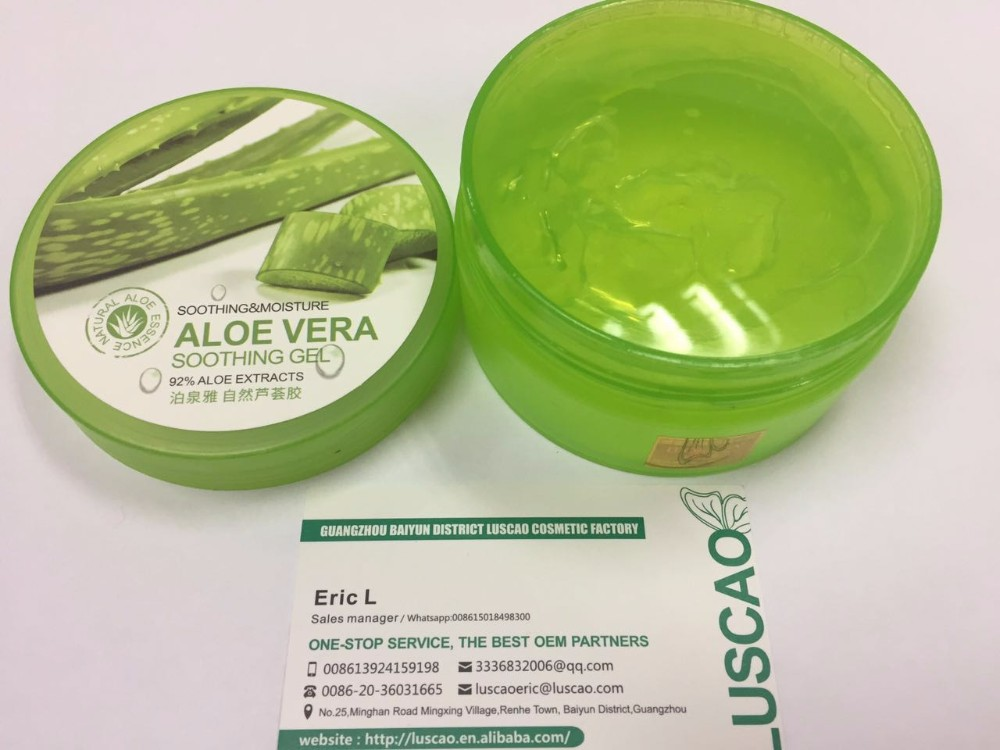 Aloe vera gel for skin lightening factory offer 220g pure soothing and moisture forever living - Aloe vera en pot ...