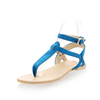 Cheap India Ladies Party Wear T-strap Sandals India Beautiful Nude Girls Sandals