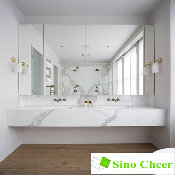 Marvelous Prefab Calacatte Gold White Marble Double Sink Bathroom Vanity Top Buy Double Sink Bathroom Vanity Double Sink Marble Vanity Tops Calacatte Gold Download Free Architecture Designs Barepgrimeyleaguecom
