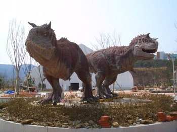 2013 Outdoor And Indoor Fiberglass Dinosaurs Garden Sculpture For Sale