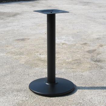 Decorative Metal Dining Table Leg Round Black Cast Iron Bases Base Wrought Restaurant