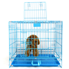 Pet Overstriking Folding Dog Cage Skylight Tray Wire Dog Cage for Sale Cheap