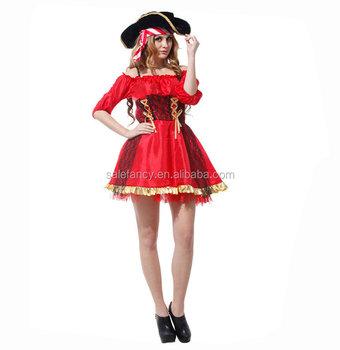 Red Fancy Pirecess Dress Princess Jasmine Costume Qawc 0114 View