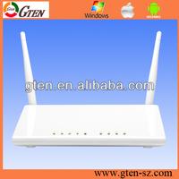 300Mbps Wireless ADSL2/2+ modem router 4 ports long range adsl modem