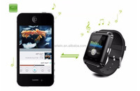 Newest U8 Watch Smartwatch High Quality Bluetooth Phones Watch Smartwatches with Call MP3 Alarm For Smartphone