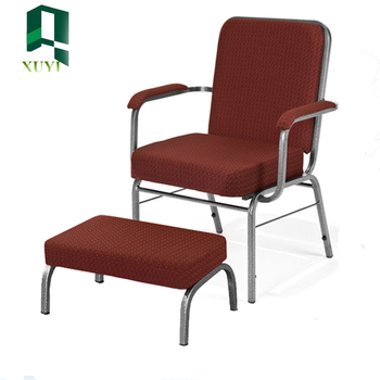 good fabric strong metal frame church pulpit chairs hot sale - buy