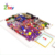 Popular Children Soft Indoor Playground Equipment For Jungle Gym Style