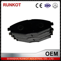 Quality Assurance Economic Motorbike Brake Pads