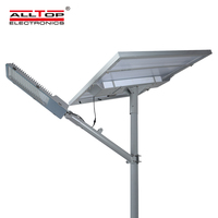 ALLTOP New Design High Brightness Outdoor Ip65 SMD 90w 120w 150w 180w Solar LED Street Lamp