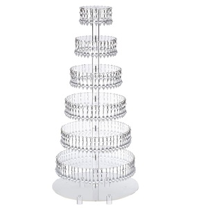 wholesale dessert tower - clear acrylic cake pop stand with crystal