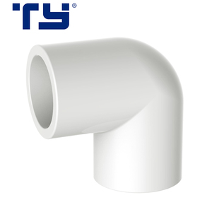 China PP plastic pipe fitting accessories 90 degree Female Elbow