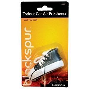 The Home Fusion Company Black Trainer Converse 2 X Car Home Air Freshener Fresh Trendy & Stylish