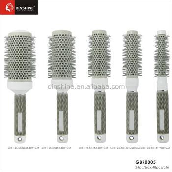 China Bomb Curl 3d Hair Brush 360 Degree Ball Styling Blow Drying ...