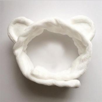 Women Cat Ears Makeup Headband Spa Turban Headband - Buy ... 476e6308ea2