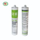 OEM Transparent Clear silicone adhesive glue/excellent adhesion acetic/neutral silicone sealant for glass