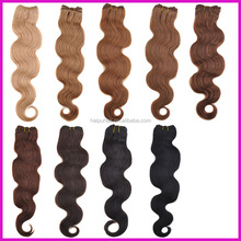 "Wholesale Price 18"" Body Wave, heat-resistant fiber synthetic hair extensions"