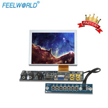Feelworld touchscreen <span class=keywords><strong>5</strong></span> <span class=keywords><strong>zoll</strong></span> <span class=keywords><strong>tft</strong></span> vga mini lcd display module für Auto Video PC Betriebssysteme